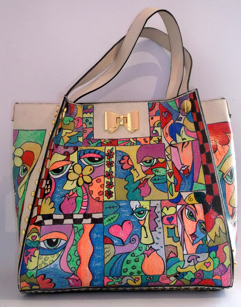 Hand Painted Handbag